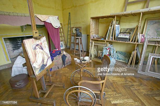 Art Studio of Auguste Renoir at his home Les Colettes Musee Renoir CagnesSurMer France