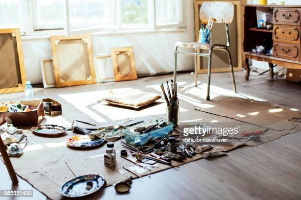 art studio - art studio stock pictures, royalty-free photos & images