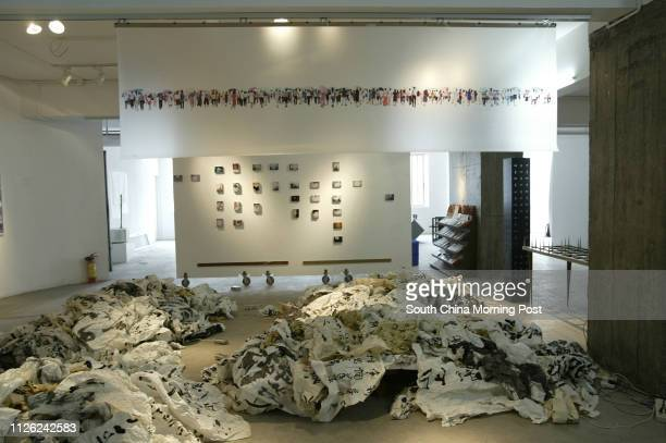 Art works at the Vitamin Creative Space art space in Guangzhou Travelling to Guangzhou to interivew artists who are part of a landmark exhibition in...