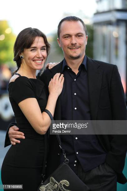 """Arta Dobroshi and Shkumbin Jakupi attend the """"Drita"""" photo call during the 15th Zurich Film Festival at Kino Corso on September 30, 2019 in Zurich,..."""