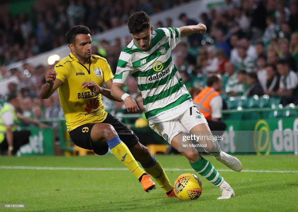Celtic v Alashkert FC - UEFA Champions League Qualifier : News Photo