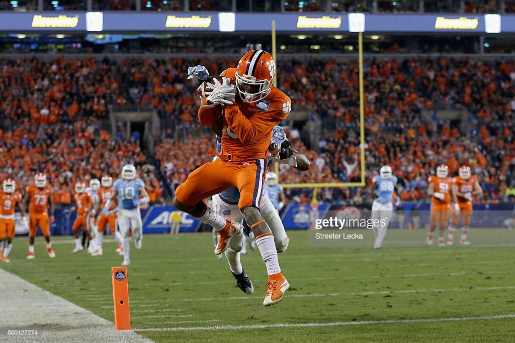 ACC Championship - Clemson v North Carolina