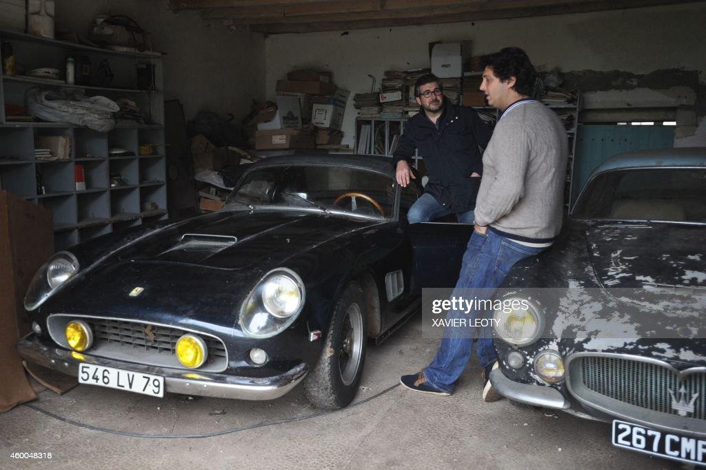 FRANCE-MOTOR-AUCTION : News Photo