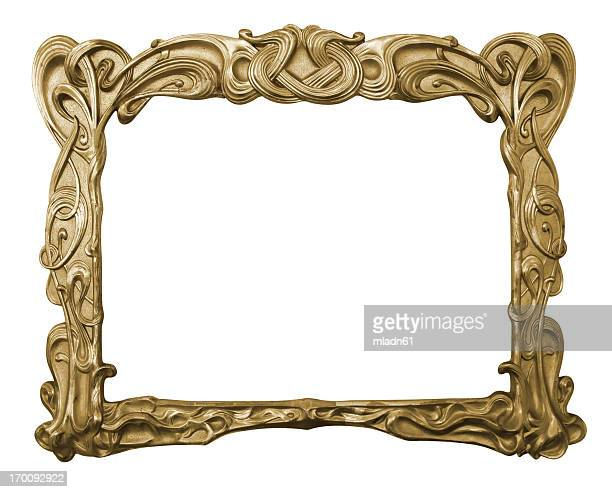 art-deco frame - art deco stock pictures, royalty-free photos & images