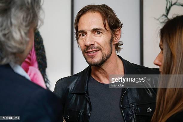 Artdirector Thomas Hayo at 'Der Berliner Fotografie Salon Edition 1' on April 29 2016 in Berlin Germany
