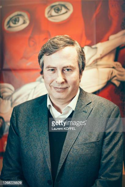 Arte Cinema Olivier Père is photographed for Self Assignment on, March 13, 2017 in Paris, France.