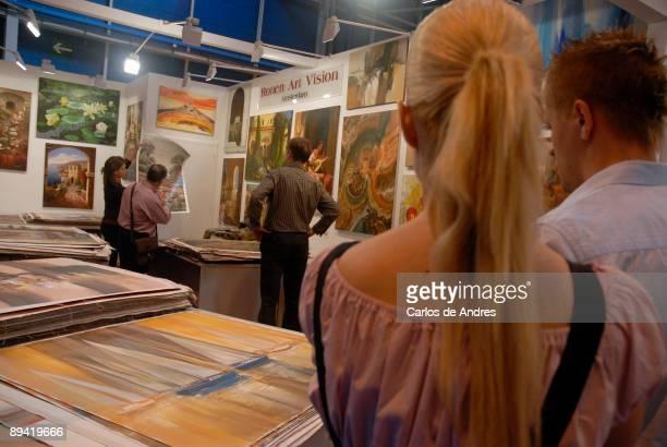 Artecuadro 2007. Ifema. Feria de Madrid. Framing Prints and Painting Supplies Show.