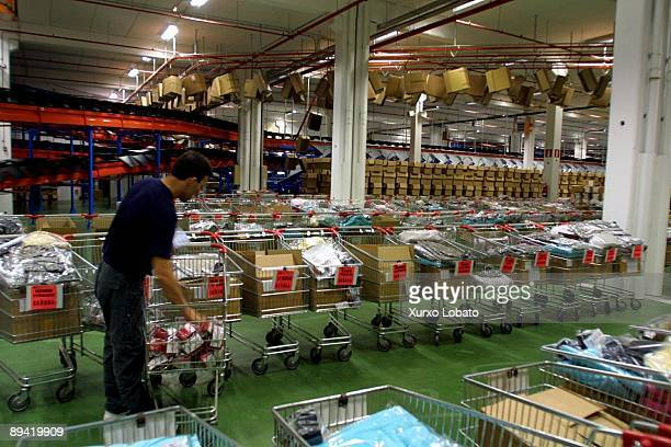 Arteixo La Coruna Spain Inditex Group Factory Workers of the company