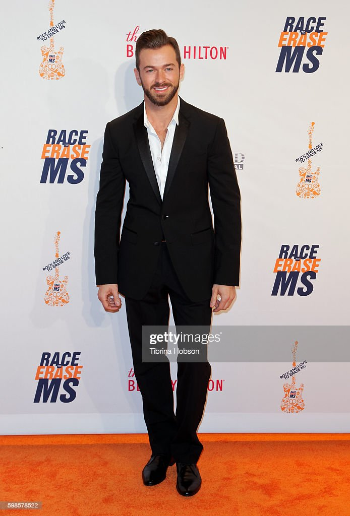 Artem Chigvintsev attends the 23rd annual Race to Erase MS Gala at The Beverly Hilton Hotel on April 15, 2016 in Beverly Hills, California.