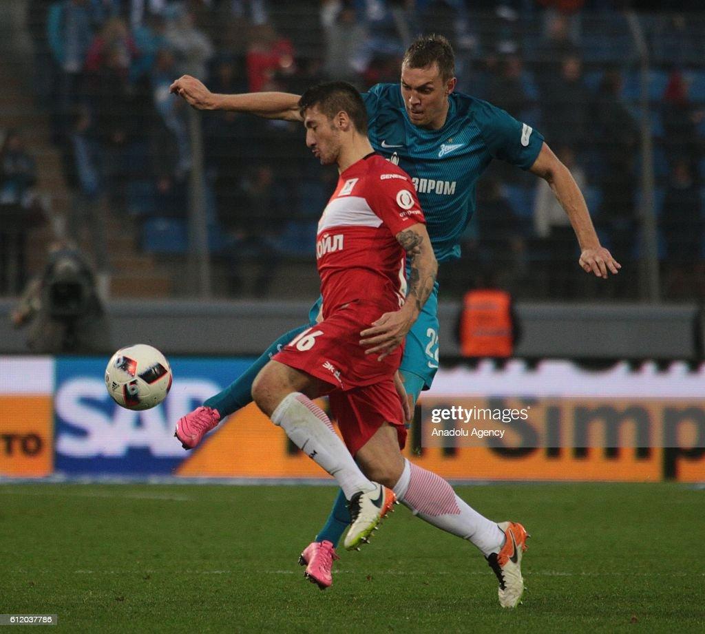 Matches Spartak - Zenit in the season 2018 - 2019 79
