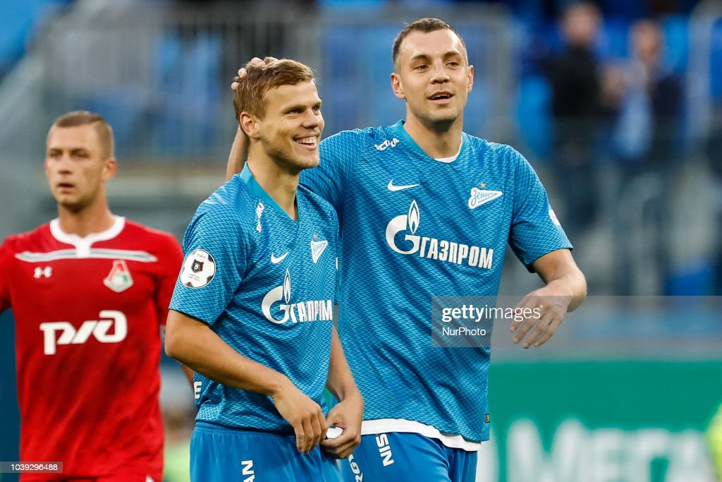 Zenit Saint Petersburg v Lokomotiv Moscow - Russian Premier League : News Photo