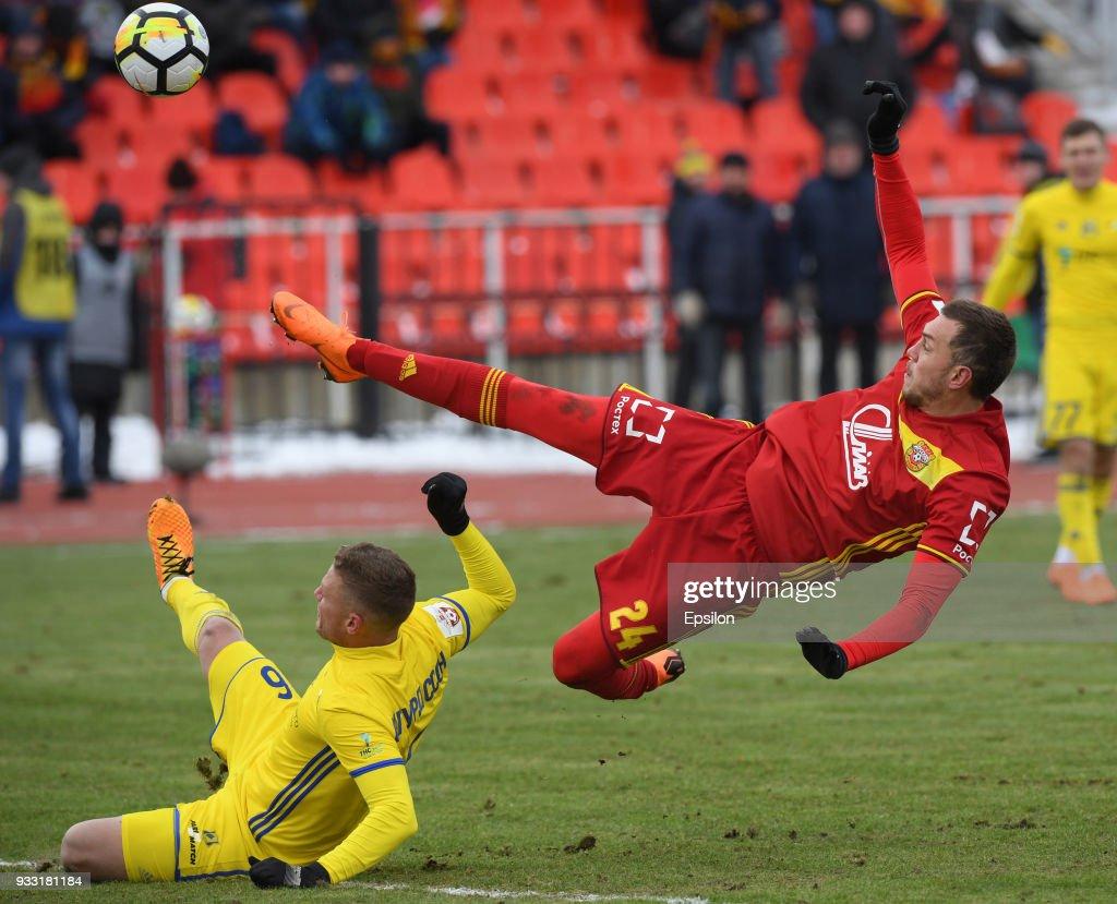 FC Arsenal Tula vs FC Rostov Rostov-on-Don - Russian Premier League