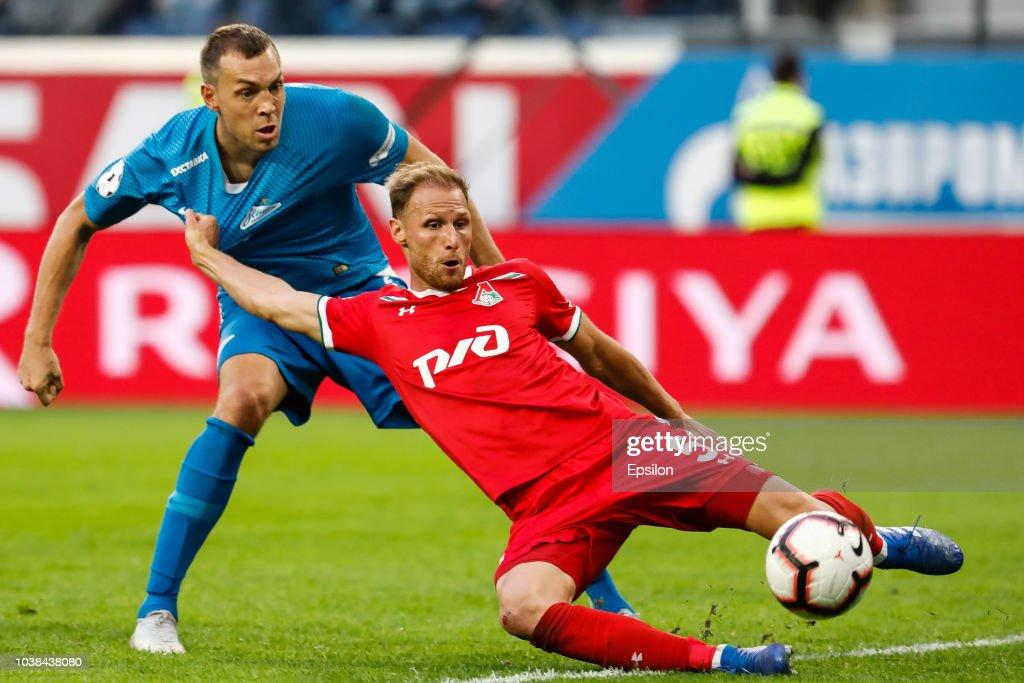 FC Zenit Saint Petersburg vs FC Lokomotiv Moscow- Russian Premier League : News Photo