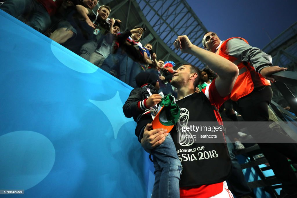 Russia v Egypt: Group A - 2018 FIFA World Cup Russia : News Photo