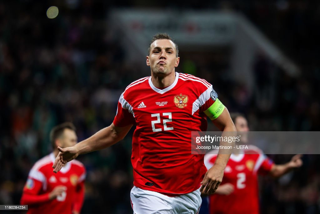 Russia v Scotland - UEFA Euro 2020 Qualifier : Nachrichtenfoto