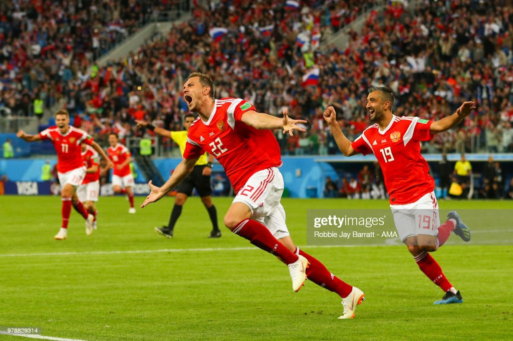 Russia v Egypt: Group A - 2018 FIFA World Cup Russia