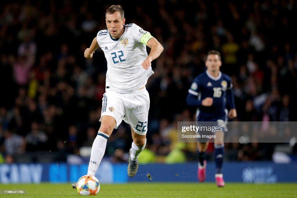 Scotland  v Russia  -EURO Qualifier : News Photo