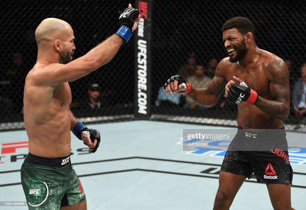 UFC Fight Night: Johnson v Lobov : News Photo