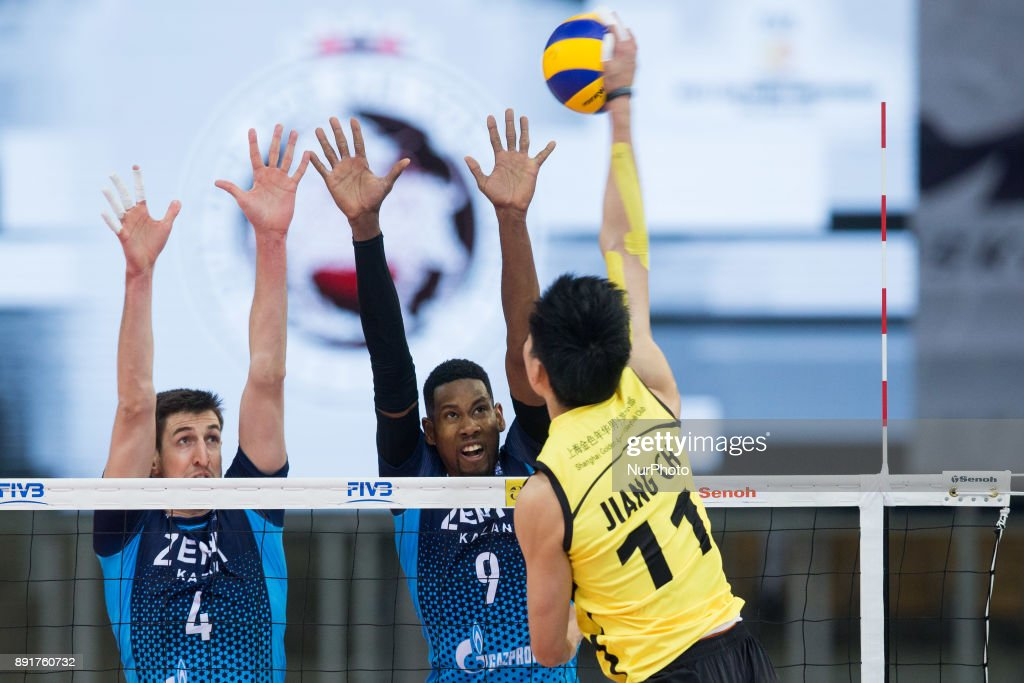 Zenit Kazan v  Shanghai - Volleyball Men's World Club Championship