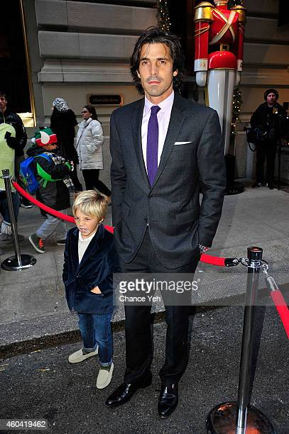Artemio Figueras and Nacho Figueras attends Nacho Figueras And St Regis Hotels Resorts Celebrate The Holiday Season at The St Regis on December 13...