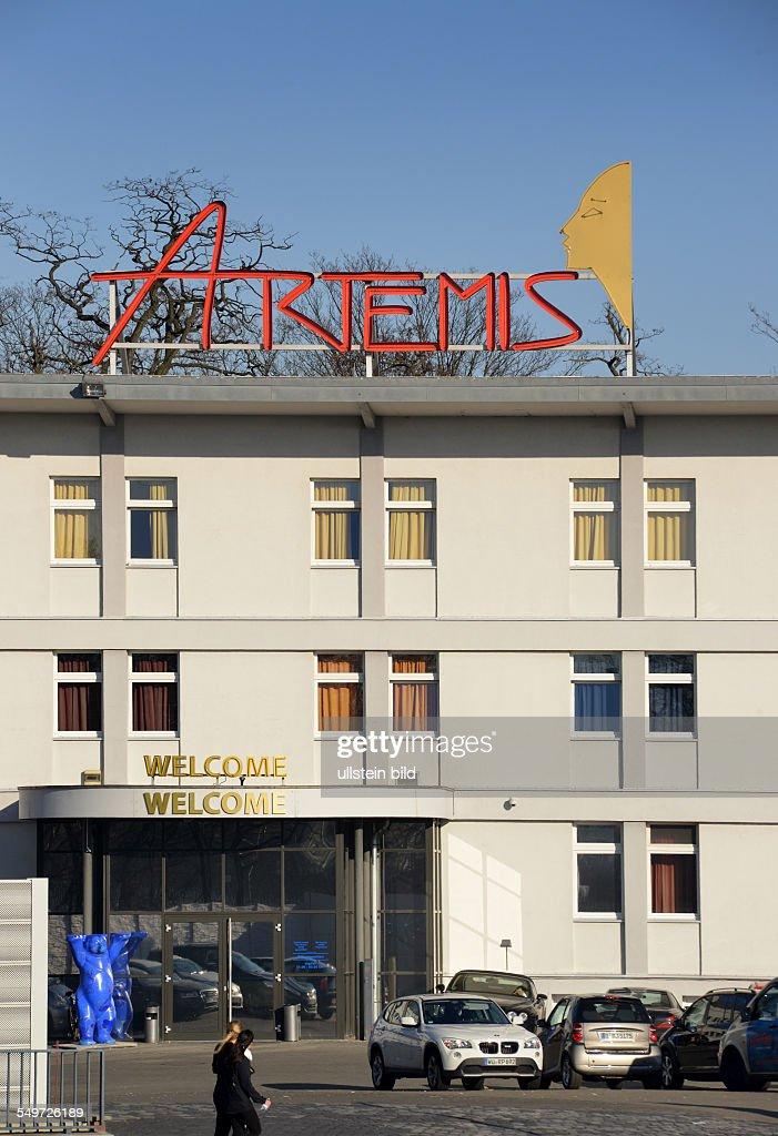 Artemis, Bordell, Halenseestrasse, Charlottenburg, Berlin