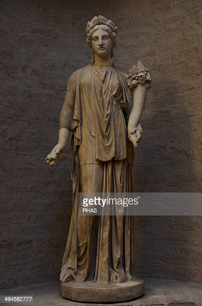 Artemis Goddes of the Hunt Daughter of Zeus and sister of Apollo Roman equivalent is Diana The ancient torso was restored by Bertel Thorvaldsen as...