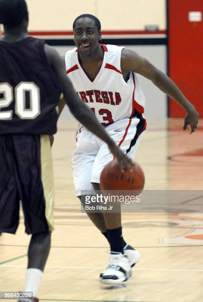 Artesia High School basketball player James Harden during league game February 6 2007 in Lakewood California