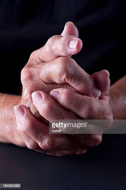arthritis hands - osteoarthritis stock photos and pictures