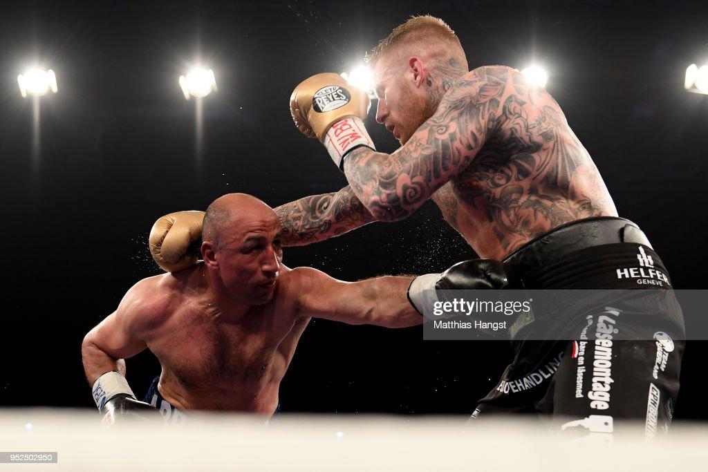 Arthur Abraham v Patrick Nielsen - WBO International Super Middleweight Title : News Photo