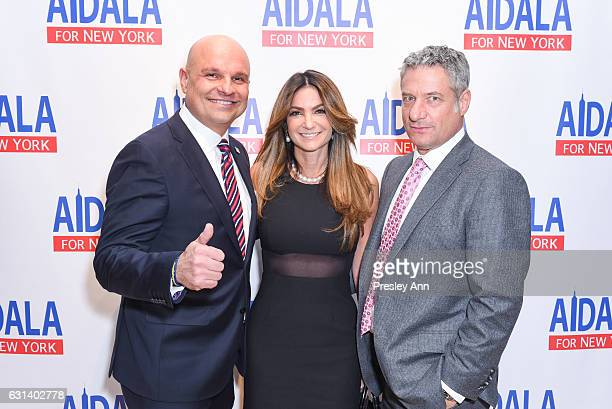 Arthur Aidala Beth Shak Leventhal and Rick Leventhal attendArthur Aidala for New York Fundraiser at The Liberty Warehouse on January 9 2017 in...