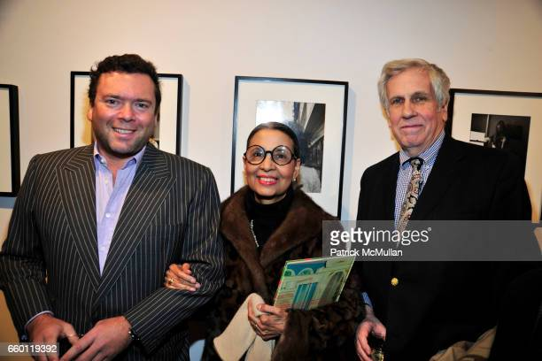 Arthur Altschul Gail Buckley and Kevin Buckley attend CYNTHIA MACADAMS and TIMOTHY GREENFIELDSANDERS Photo Exhibit at Steven Kasher Gallery on...