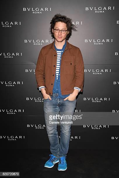 Arthur Arbesser attends BVLGARI Celebration of BZero1 At Milan Design Week at Hotel Bulgari on April 12 2016 in Milan Italy