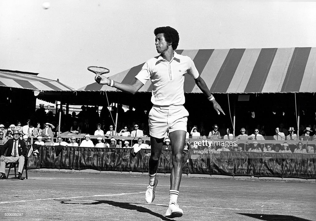 Arthur Ashe... : News Photo