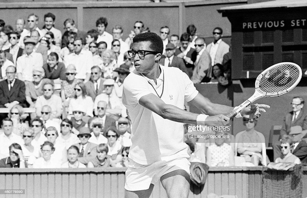 Arthur Ashe - Wimbledon : News Photo