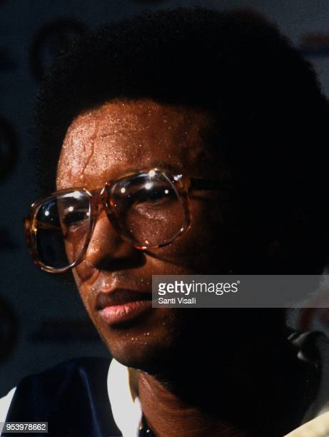 Arthur Ashe press conference on January 10 1979 in New York New York