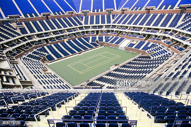 Arthur Ashe Stadium, home to the US Open, is located at the USTA Billie Jean King National Tennis Center in Flushing, Queens.