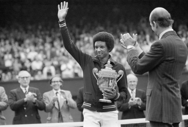 GBR: 5th July 1975 - Arthur Ashe Wins Wimbledon