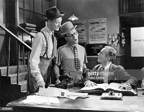 Arthur Askey and Richard Murdoch star in the wartime comedy 'Band Wagon' directed by Marcel Varnel for Gainsborough