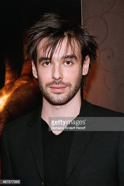 Arthur Aubert attends his Exhibition private view Held at Le Fouquet's Barriere Hotel on February 6 2014 in Paris France