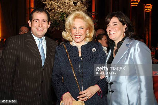 Arthur Backal Harriet Rose Katz and Melissa Rosenbloom attend The FOOD ALLERGY Initiative's Spring Luncheon at Cipriani 42nd Street on April 17 2007...