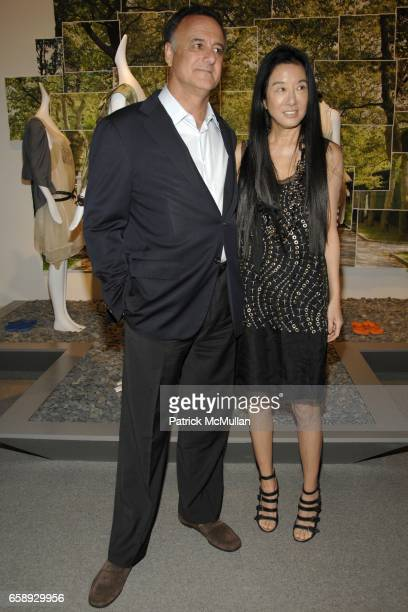 Arthur Becker and Vera Wang attend The Art of Fashion in The Hamptons GUILD HALL Summer Gala Honoring MARJORIE F CHESTER Sponsored by Van Cleef...