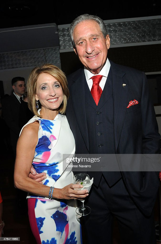 Arthur Blank and Angela Macuga attend the 9th Annual American Institute For Stuttering Benefit Gala at The Lighthouse at Chelsea Piers on June 8, 2015 in New York City.
