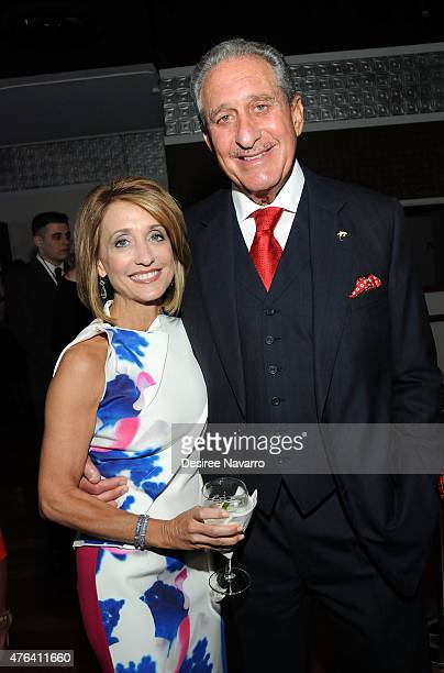 Arthur Blank and Angela Macuga attend the 9th Annual American Institute For Stuttering Benefit Gala at The Lighthouse at Chelsea Piers on June 8 2015...