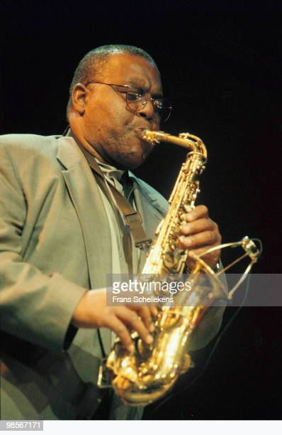 Arthur Blythe plays Alto Sax live on stage at Bimhuis in Amsterdam, Netherlands on November 18 1999