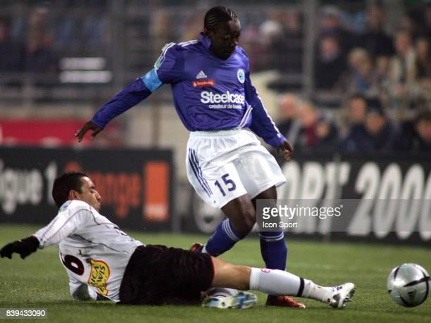 Arthur BOKA / Olivier ECHOUAFNI Strasbourg / Nice 15e journee Ligue 1