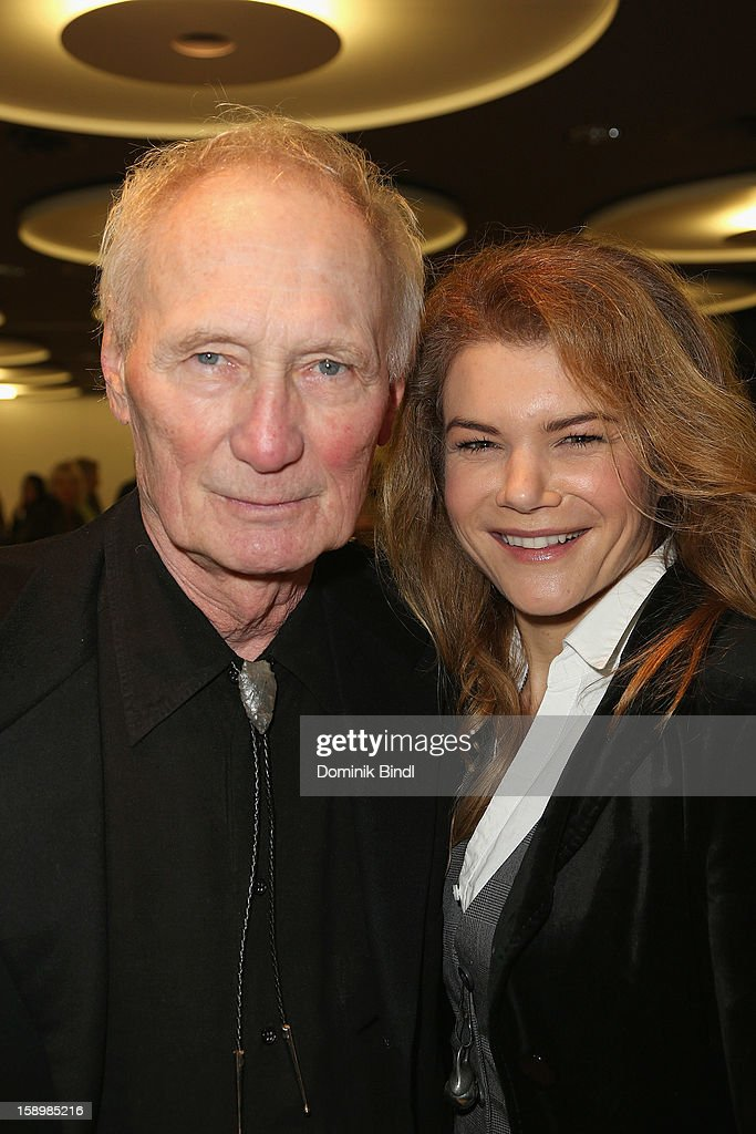 Arthur Brauss and Silke Popp attend the show 10 years of Appassionata - Friends Forever on January 4, 2013 in Munich, Germany.
