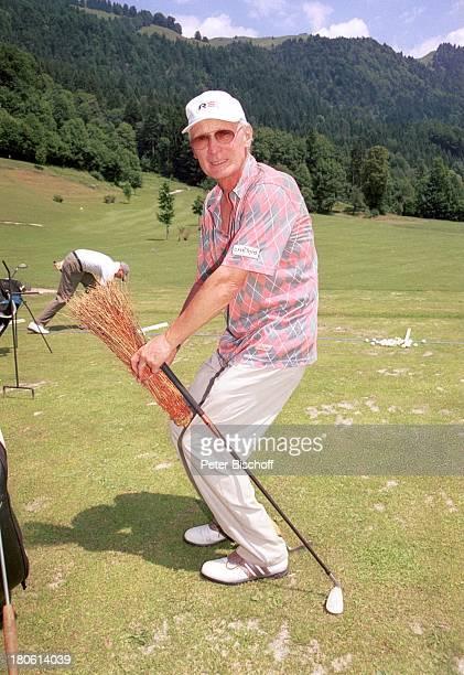 Arthur Brauss Charity Golf Turnier zu Gunsten der Kinderkrebshilfe Golfclub WalchseeMoarhof an der Schwemm Österreich Golfplatz Golfschläger Cappy...