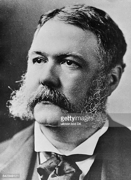 Arthur Chester Alan1830 1886Politiker USA21 Präsident 1881 1885