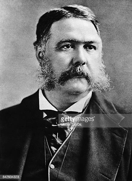 Arthur Chester Alan1830188621 Präsident der USA 18811885Porträt undatiert