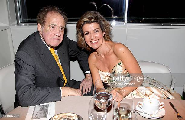 Arthur Cohn and Anne Sophie Mutter attend the 'Gala Abend mit Arthur Cohn' as part of Filmfest Muenchen 2014 at Gasteig and Dinner at Hotel...